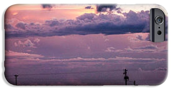 July iPhone Cases - The Sunset after the Supercell iPhone Case by Dale Kaminski
