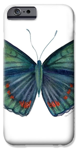 82 Bellona Butterfly iPhone Case by Amy Kirkpatrick