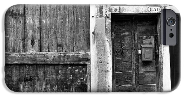 Venetian Doors iPhone Cases - 830 in Venice iPhone Case by John Rizzuto