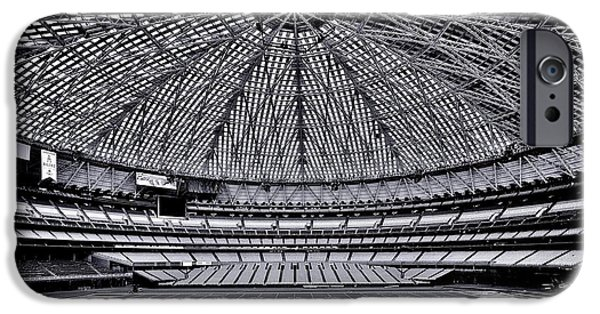 Baseball Stadiums iPhone Cases - 8th Wonder iPhone Case by Benjamin Yeager