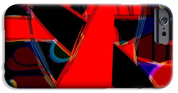 Backgrounds iPhone Cases - Abstract Art Collection iPhone Case by Marvin Blaine