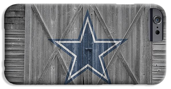 Balls Photographs iPhone Cases - Dallas Cowboys iPhone Case by Joe Hamilton