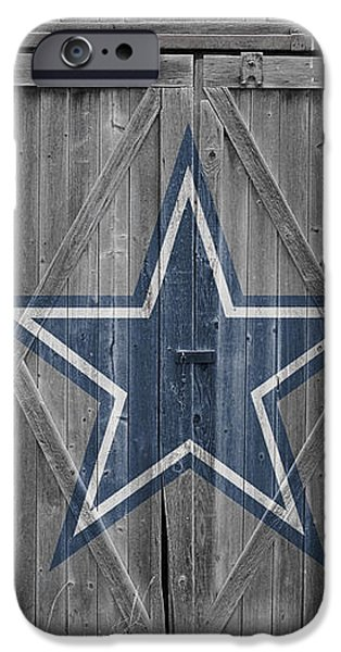 DALLAS COWBOYS iPhone Case by Joe Hamilton