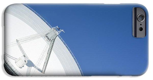Technology iPhone Cases - Effelsberg Radio Telescope iPhone Case by Detlev van Ravenswaay