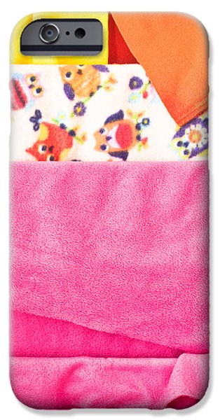 Sheets iPhone Cases - Fleece iPhone Case by Tom Gowanlock