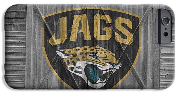 Sports Photographs iPhone Cases - Jacksonville Jaguars iPhone Case by Joe Hamilton