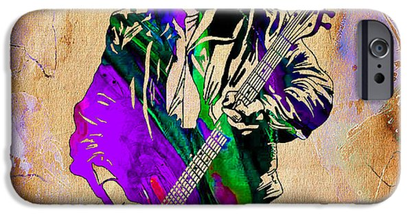 Keith Richards iPhone Cases - Keith Richards Collection iPhone Case by Marvin Blaine