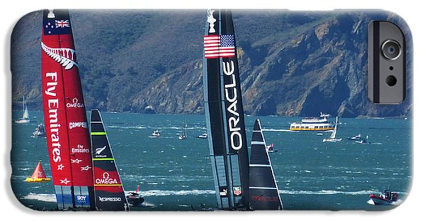 Oracle iPhone Cases - Last race iPhone Case by David Davies