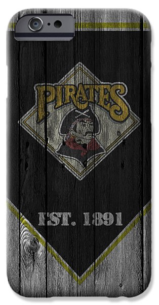 Pittsburgh Pirates iPhone Cases - Pittsburgh Pirates iPhone Case by Joe Hamilton