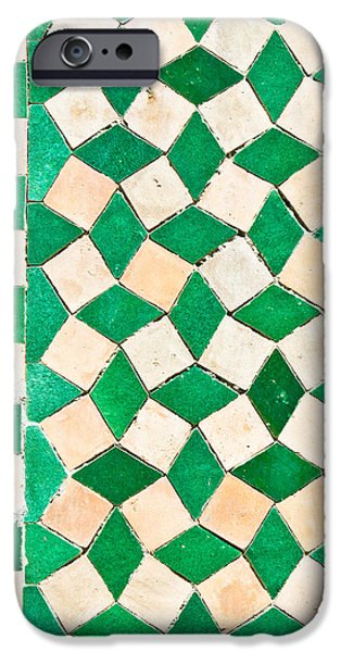 Mosaic iPhone Cases - Tiles iPhone Case by Tom Gowanlock