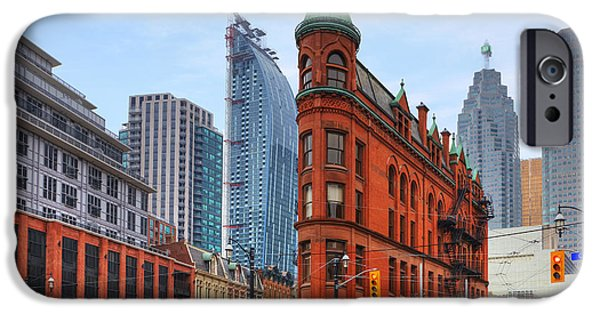 Recently Sold -  - Buildings iPhone Cases - Toronto iPhone Case by Joana Kruse