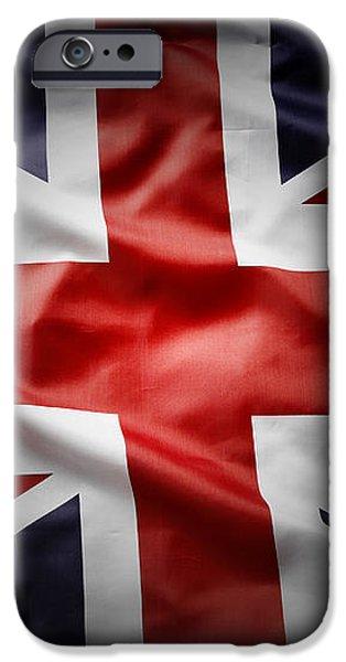 Union Jack  iPhone Case by Les Cunliffe