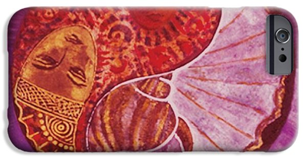 Ying iPhone Cases - Untitled iPhone Case by Sabira Manek
