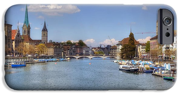 St Photographs iPhone Cases - Zurich iPhone Case by Joana Kruse