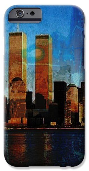 911 Never Forget iPhone Case by Anita Burgermeister