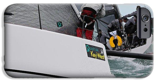Storm iPhone Cases - Key West Regatta iPhone Case by Steven Lapkin
