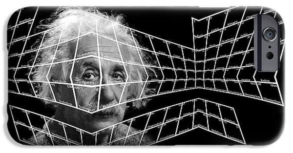 Relativity iPhone Cases - 99 Einsteinium iPhone Case by Daniel Hagerman