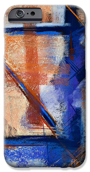 Rust Pastels iPhone Cases - Feather Weight iPhone Case by Tracy L Teeter