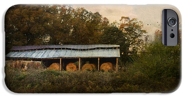 Tennessee Barn iPhone Cases - A Barn For The Hay iPhone Case by Jai Johnson