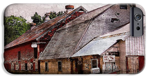 Old Barn iPhone Cases - A Barn With Many Purposes iPhone Case by Marcia Lee Jones