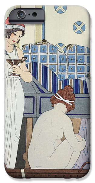 A Bath Seat iPhone Case by Joseph Kuhn-Regnier