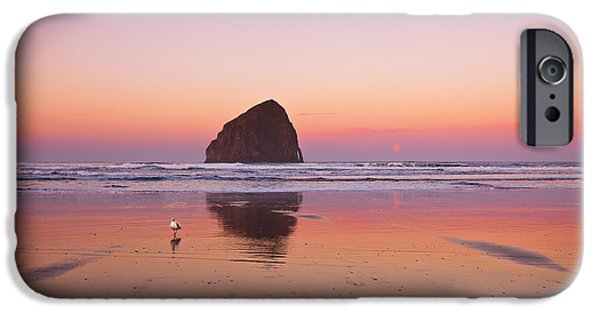 Oregon Coast iPhone Cases - A Beautiful Morning iPhone Case by Darren  White