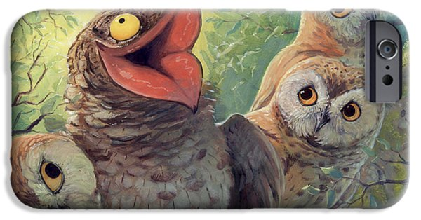 Storybook iPhone Cases - A Bird in this World iPhone Case by Jaimie Whitbread