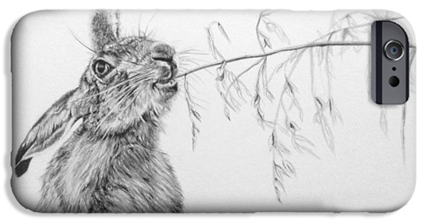 March Hare iPhone Cases - A Bit Of Brunch iPhone Case by Frances Vincent