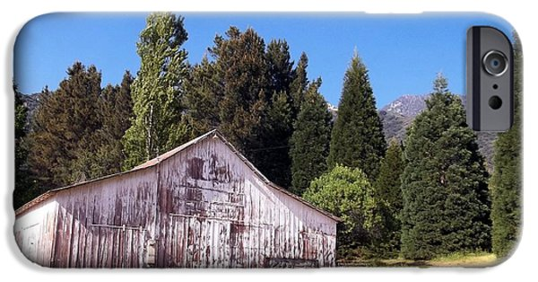 Old Barns iPhone Cases - A Bit Of Country iPhone Case by Glenn McCarthy Art and Photography