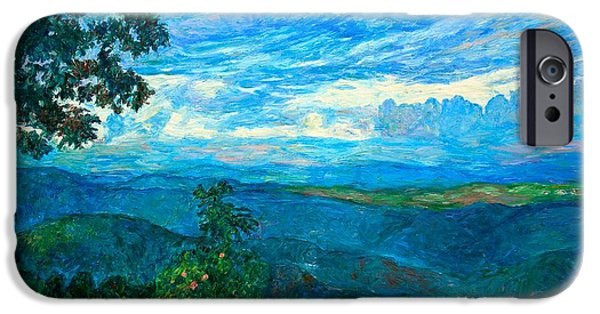 Blue Ridge Parkway iPhone Cases - A Break in the Clouds iPhone Case by Kendall Kessler