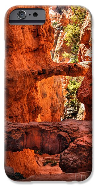 Recently Sold -  - Haybale iPhone Cases - A Bridge iPhone Case by Robert Bales