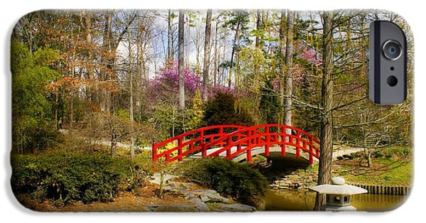 Duke iPhone Cases - A Bridge to Spring iPhone Case by Benanne Stiens