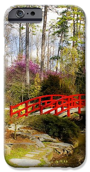 A Bridge to Spring iPhone Case by Benanne Stiens