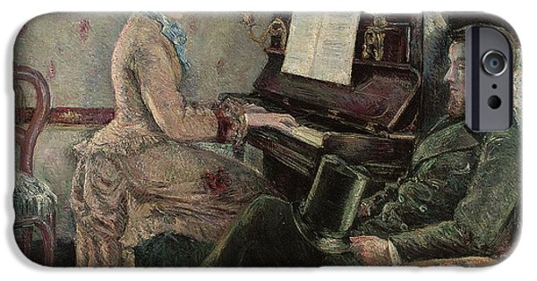 Piano iPhone Cases - A Captive Audience iPhone Case by Frederic Samuel Cordey