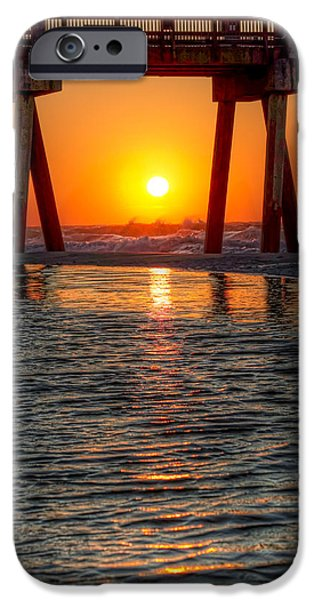Sunset iPhone Cases - A Captive Sunrise iPhone Case by Tim Stanley