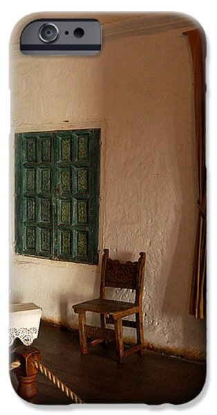 A cell in Santa Catalina Monastery iPhone Case by RicardMN Photography