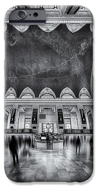 A Central View BW iPhone Case by Susan Candelario