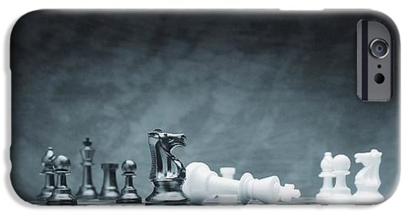 Dominating iPhone Cases - A Chess Game iPhone Case by Don Hammond