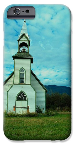 Boarded Up iPhone Cases - A Church In British Columbia   iPhone Case by Jeff  Swan
