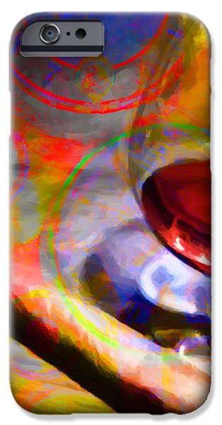 A Cognac Night 20130815 iPhone Case by Wingsdomain Art and Photography