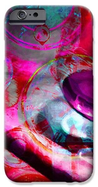 A Cognac Night 20130815m50 iPhone Case by Wingsdomain Art and Photography