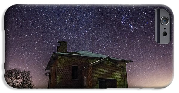 Dark Sky iPhone Cases - A cold dark place iPhone Case by Aaron J Groen