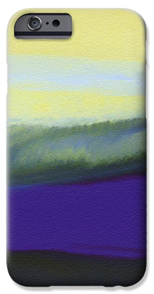 A Dark Momentum iPhone Case by The Art of Marsha Charlebois
