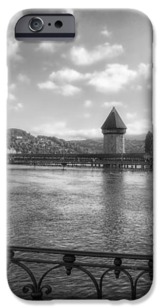 A Day in Lucerne iPhone Case by Mountain Dreams