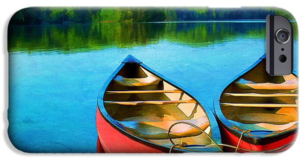 Virginia Photographs iPhone Cases - A Day on the Lake iPhone Case by Darren Fisher