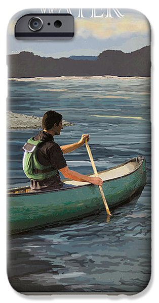 A Day on the Water Possum Kingdom iPhone Case by Jim Sanders