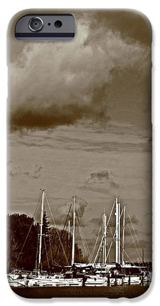 a delta storm  iPhone Case by Joseph Coulombe