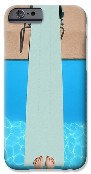 Practise iPhone Cases - A Diving Board iPhone Case by Don Hammond