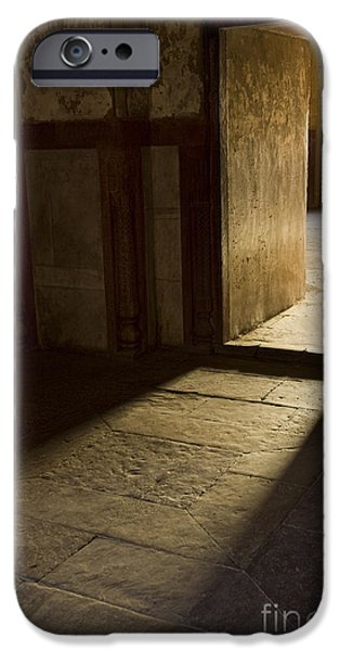 Nation iPhone Cases - A Doorway At Humayuns Tomb iPhone Case by John Shaw
