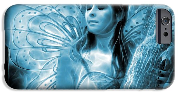 Rare Moments iPhone Cases - A Fairy Moment iPhone Case by Jon Volden